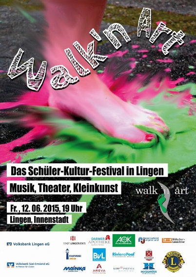 Walk 'N' Art Plakat 2015